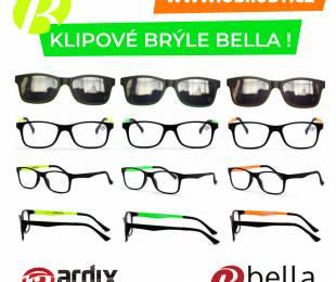 Nové modely klipových brýlí BELLA čerstvě v naší nabídce 🤓😎