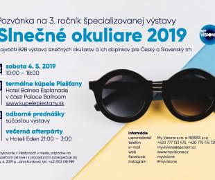 Výstava Slnečné okuliare 2019