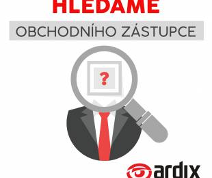 Hledáme obchodního zástupce pro region západní Slovensko