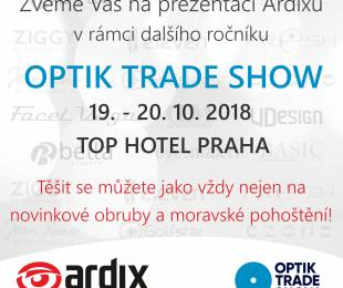 Pozvánka na OPTIK TRADE SHOW