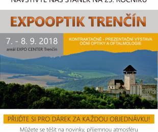 Pozvánka na EXPOOPTIK Trenčín 2018
