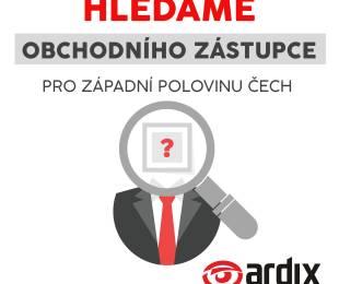 Hledáme obchodního zástupce západní polovinu Čech